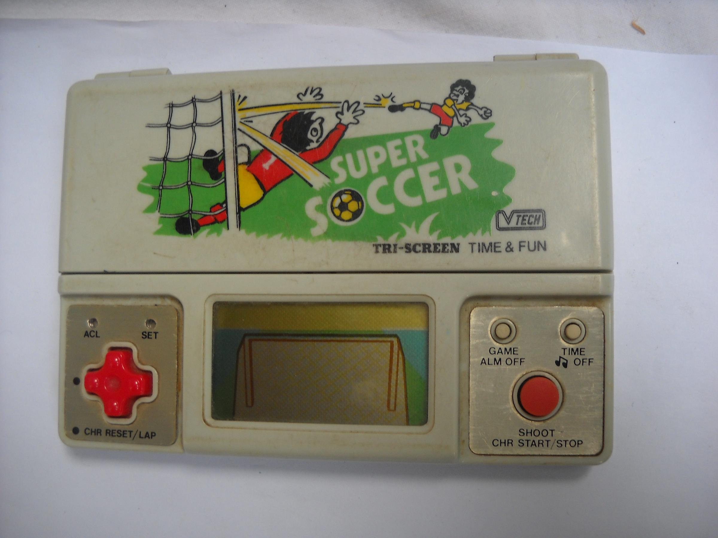 Handheld Empire - game | V-Tech : Super Soccer