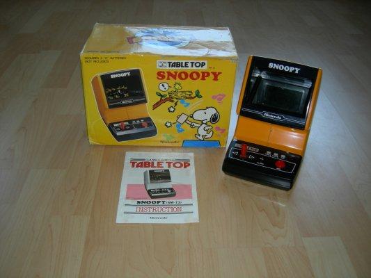 Handheld Empire Game Nintendo Snoopy