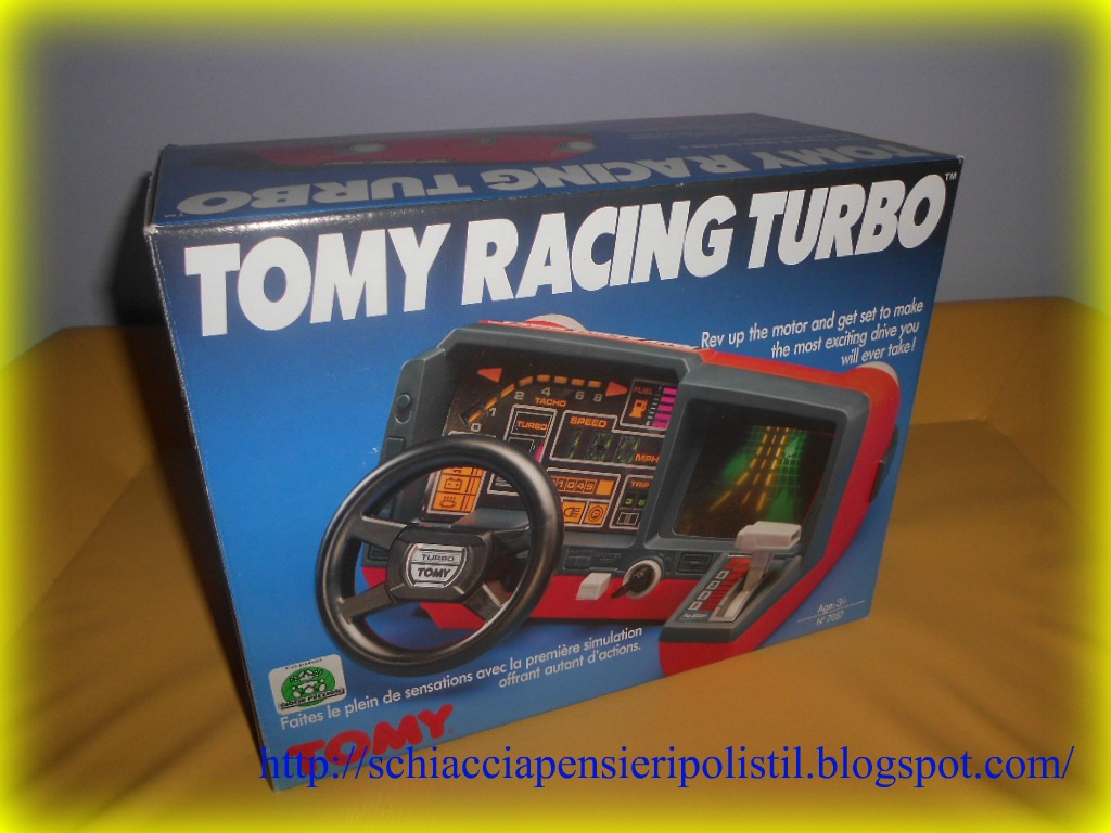 Handheld Empire Game Tomy Tomy Racing Turbo